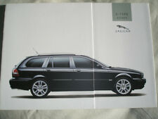 Jaguar X Type Estate brochure 2004 German text