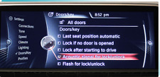 BMW iDrive Coding With USB - ACOUSTICAL LOCK CONFIRM FOR NBT UNIT