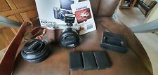 Samsung NX500 Digital Camera & Samsung 20mm lens and all extras