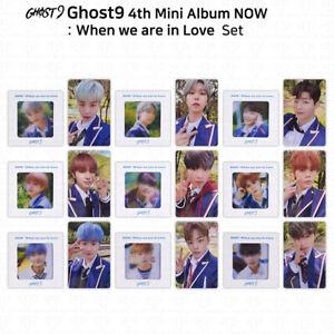 Ghost9 4th Mini Album When We Are In Love Photocard Slide Photo Film K-POP KPOP