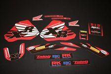 Honda XR 250-400 Blemish MX Graphics Decals Kit Stickers