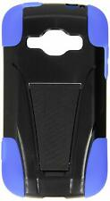 Eagle Cell Hybrid Y Case with Kickstand for Samsung Galaxy Ring Blue/Black