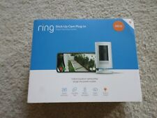 Ring Stick Up Indoor/Outdoor 1080p Wired Security Camera - White - Brand New
