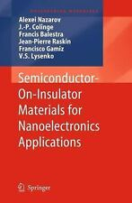 Engineering Materials Ser.: Semiconductor-On-Insulator Materials for...