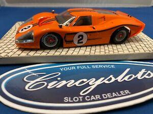 NSR Ford MK IV Orange 1/32 Slot Car
