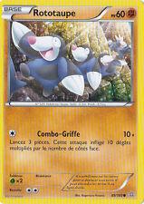 Rototaupe - XY5:Primo Choc - 89/160 - Carte Pokemon Neuve Française