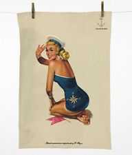 PIN Up Girl Asciugamani-BELLISSIMA, VINTAGE STYLE by Luckies of London