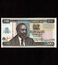 Kenya 200 Shillings 2003 P-46 * Unc * Commemorative *