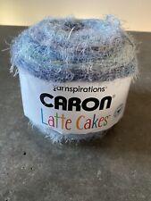 Caron Latte Cakes Yarn Horizon Blue 530 Yards Yarnspirations 1 Ball W/ Pattern