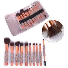 10Pcs Makeup Brushes Tools Powder Foundation Face Lip Blender Brush Kits & Bag