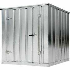 West 3303056 Galvanized Storage Building Container Kit - 2000 lbs