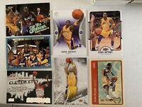 Kobe Bryant Card Lot Luxury Box Fleer Tradition Sp Authentic LA Lakers