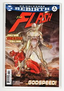 The Flash #6 - NM - 1st Print & Appearance of Godspeed - DC Rebirth Comics