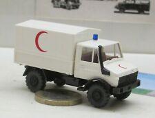 1//87 Wiking MB Unimog Mezzaluna rossa set da