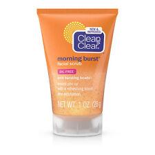 Clean & Clear Morning Burst Facial Scrub Refresh Exfoliate Oil Free Travel 1oz