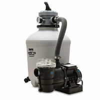 Game 75D SandPro Above Ground Pool Pump and Sand Filter Kit