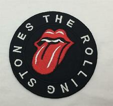 DIY Rolling Stones Hot Lips Emblem Sew Iron-On Embroidered Applique Patch Badge