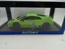1 18 Autoart #74624 Lamborghini Murcielago Lp640 Verde Ithaca / Vert - Rare §