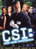 CSI: Crime Scene Investigation - The Complete Second Season (DVD, 2003, 6-Disc S