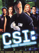 CSI: Crime Scene Investigation - Complete Second Season (DVD, 2003, 6-Disc Set)