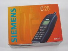 SIEMENS C25 Vintage Mobiltelefon Handy mint condition neuwertig