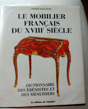 DEFINITIVE REFERENCE BOOK - FRENCH FURNITURE OF THE 18TH C & 19TH C BY KJELLBERG