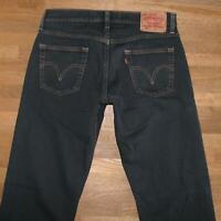 """ LEVI`S 514 SLIM STRAIGHT "" JEANS / LEVIS Blue- Jeans in dkl.- blau W31"" /L34"""