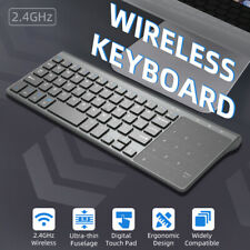 2.4GHz Wireless Mini Keyboard Touchpad Numeric Keypad for Android Windows Tablet