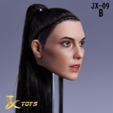 1/6 Wonder Woman Gal Gadot JX-09B Straight Hair Head Sculpt For 12'' Figure Doll