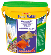 Sera Pond Flakes 1.7Kg / 10Lt Staple Fish Food for Pond Goldfish Koi Gold Fish