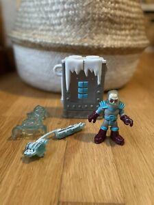 Imaginext Mr Freeze freeze chamber & figurine - COMPLETE