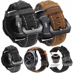 UK For Huawei Watch GT Watch 2 Pro/Classic Sport Leather Watch Wrist Band Strap