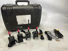 Kit de transmisor compuestas teletest 5.8ghz de 4 + Estuche Y Cables
