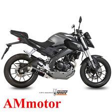 Scarico Completo Mivv Yamaha Mt-125 2016 16 Terminale Marmitta Gp Black Moto