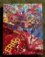 ERRO - HC DJ - 1994 - Marc Auge SIGNED COPY Very rare Art Book Icelandic