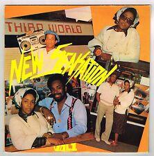 VARIOUS-new sensation volume 1    third world double LP (hear)   reggae