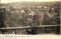 Carte postale, PERIGUEUX, Vue sur Saint Georges, écrite au revers en 1917.