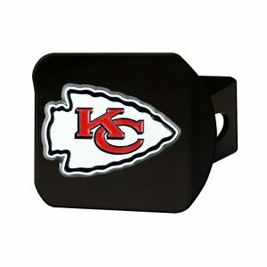 Kansas City Chiefs NFL  Black Hitch Cover