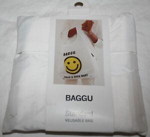 BAGGU Standard Reusable Nylon Bag THANK YOU HAPPY NWT