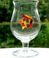 ♦ Verre bière Duvel Collection BELGIAN FOR A DAY rare DUVEL GLAS DUVEL GLASS  ♦