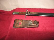 Swiss 1914 Pioneer Saw back  Bayonet made by Waffen Fabrik Neuhausen.