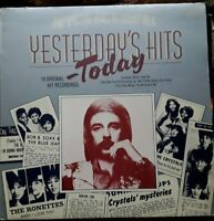 Various ‎/ Yesterday's Hits Today UK 1976 Excellent LP vinyl