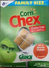 NEW GENERAL MILLS FAMILY SIZE CORN CHEX CEREAL 18 OZ BOX GLUTEN FREE BUY IT NOW