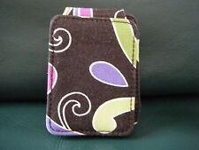 Vera Bradley Clip iPod Tune Case Purple Punch Retired, New! Rare