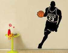 Removable Wallpaper Basketball Michael Wall Sticker Sport Kid Room Vinyl Poster