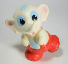 Ledra pupazzo elefantino rubber squeaky toys vintage squeese collection H18 -05I