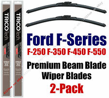 2009+ Ford F-250 F-350 F-450 F-550 F-Series Super Duty Wipers 2-Pack - 19220x2