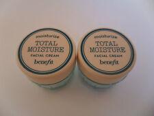 Benefit Total Moisture Facial Cream 2 x 8.9g BNWB Sample Size