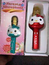 Hello Kitty Bluetooth Wireless Karaoke Microphone & Speaker Nice