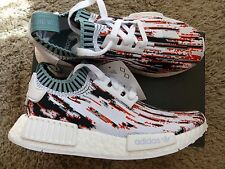"Adidas NMD Datamosh Red Glitch ""Gucci"" UK4 US4.5 EU36 2/3 BNIB DS camo og japan"